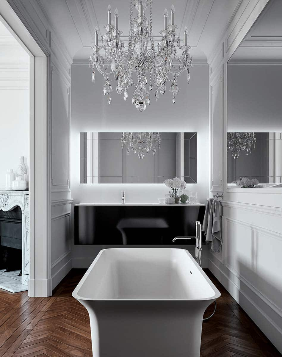 Baignoire design stocco over paris