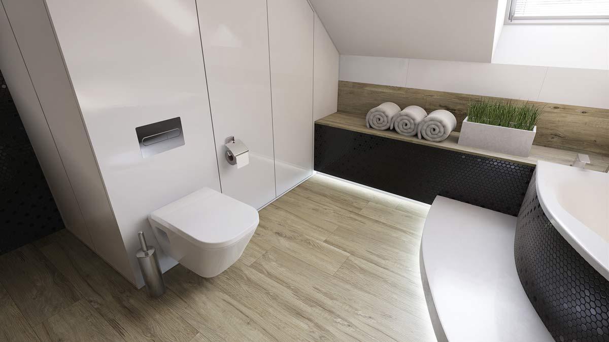 toilette minimaliste