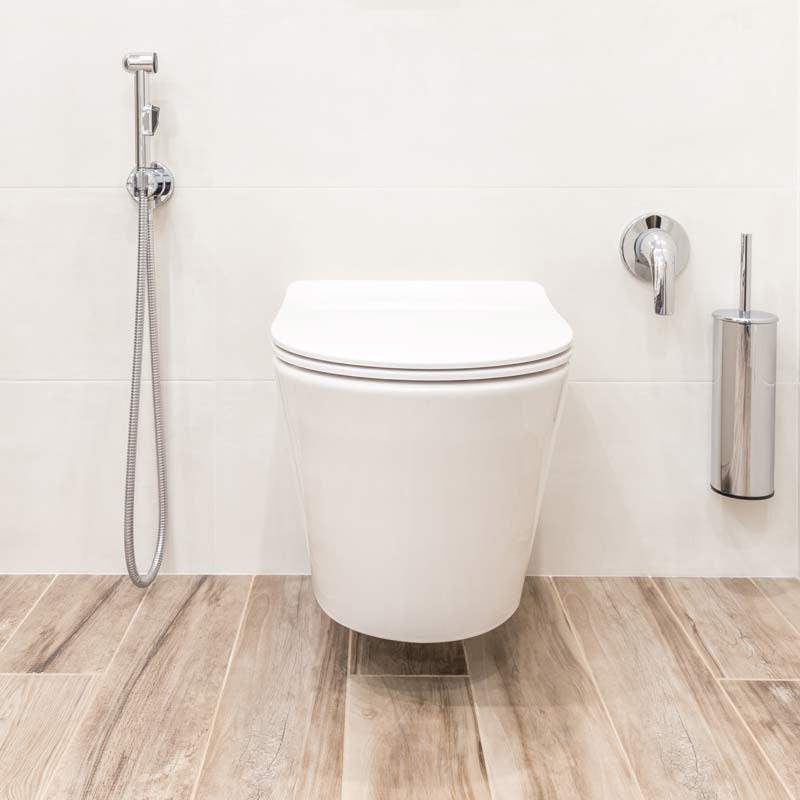 toilette suspendu épuré